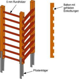 Klettergerüst selber bauen