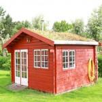 Gartenhaus selber bauen aus Holz