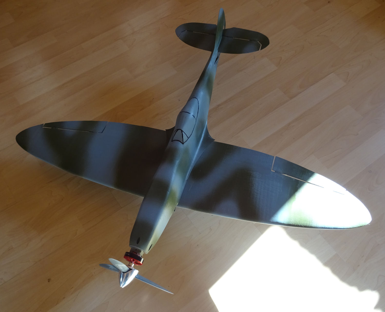 3d Druck Spitfire MK16