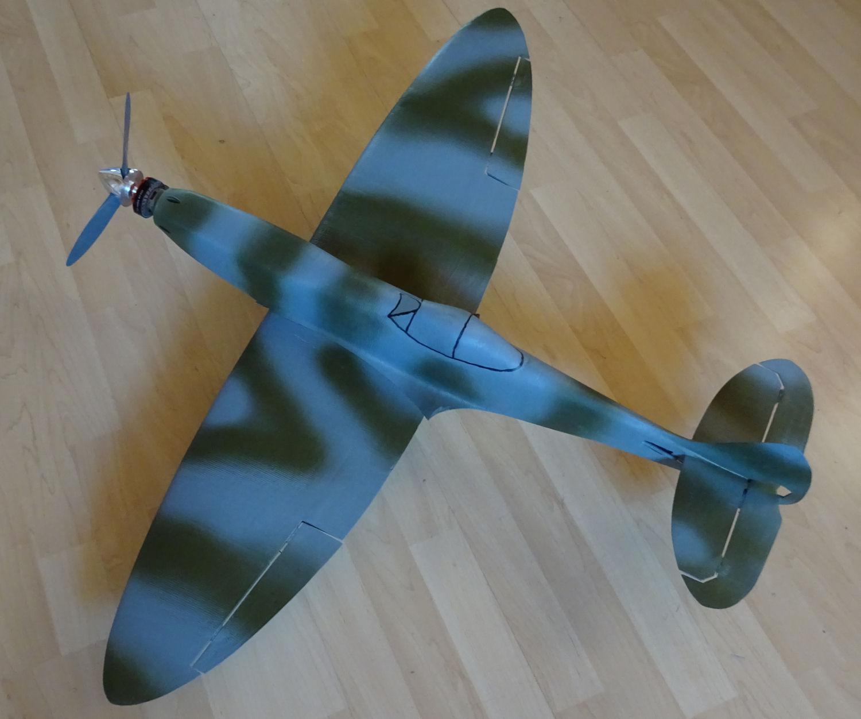 RC Spitfire MK 16 3d Druck mit Tevo Tarantula 3D Printer